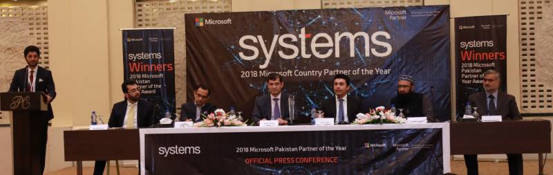 Systems Limited recognised as 2018 Microsoft Country Partner for Pakistan