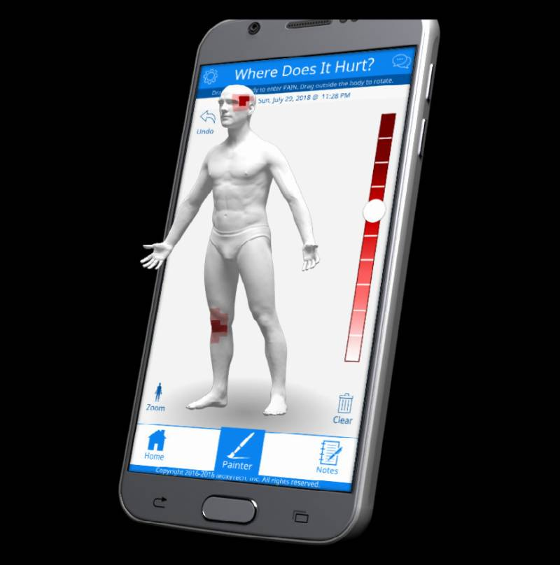 US university launches mobile pain tracking app, GeoPain