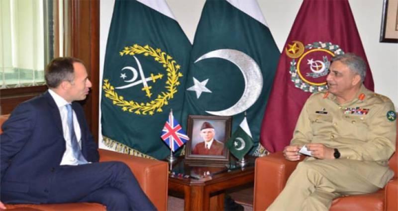 COAS Bajwa, British HC discuss matters of mutual interest