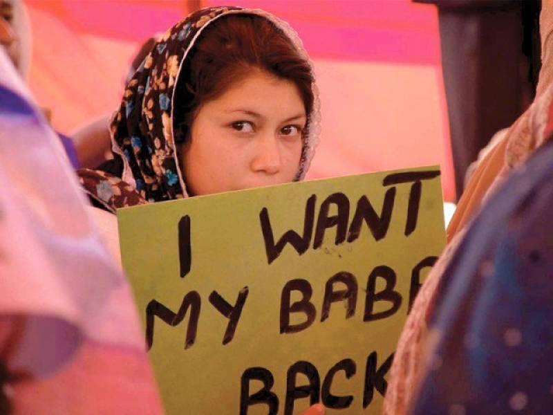 Over dozen missing persons return home in Balochistan, Sindh