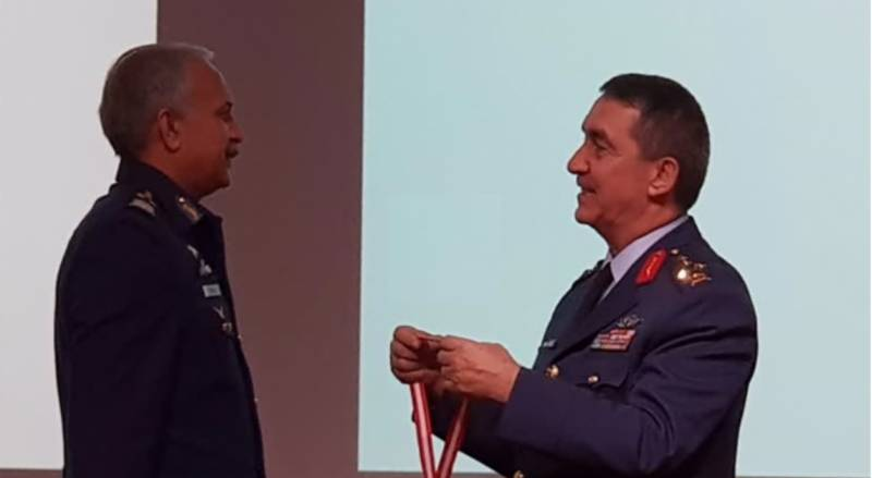 PAF chief honoured with Turkish Legion Of Merit' award