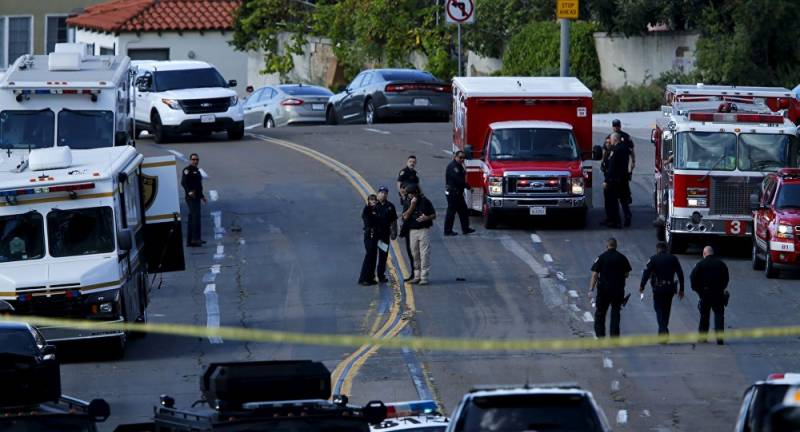 Six killed including gunmanin shooting spree in California