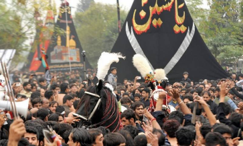 Muharram 9 processions being taken out across Pakistan amid tight security