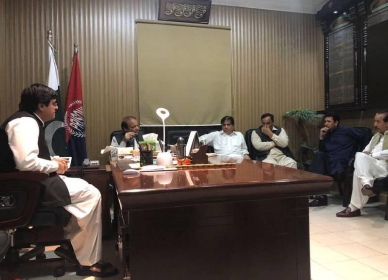 CM Buzdar orders removal of Adiala jail superintendent over Nawaz-Abbasi prison meeting