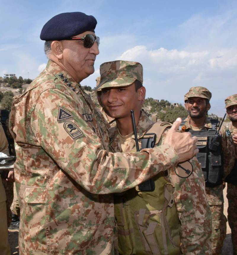 'Time for Waziristan and other new districts to flourish and progress,' says COAS Bajwa