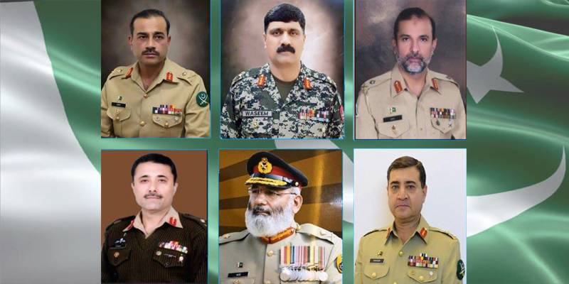 Six Pak Army major-generals promoted to lieutenant-general