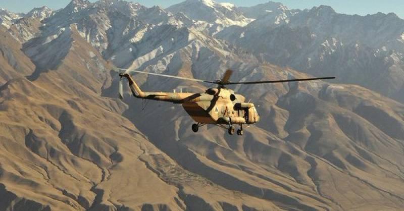 At least 8 feared dead in Afghan military chopper crash