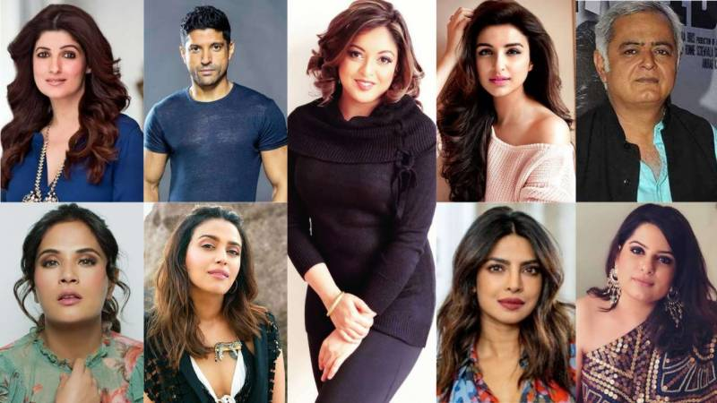 #BelieveSurvivors: These Bollywood celebs support Tanushree Dutta over sexual harassment claims