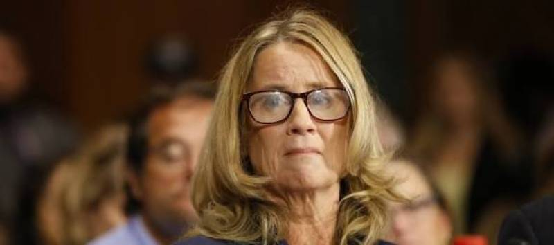 Celebrities are supporting Christine Blasey Ford on social media