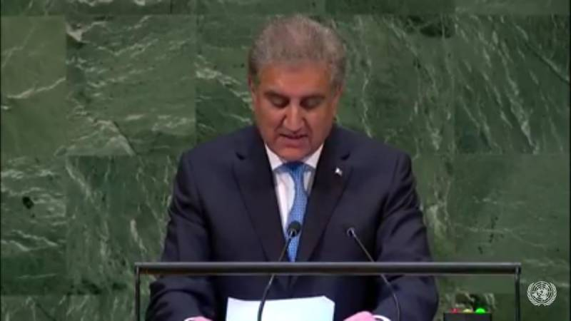 'Pakistan continues to face terrorism financed and orchestrated by India,' SMQ at UN