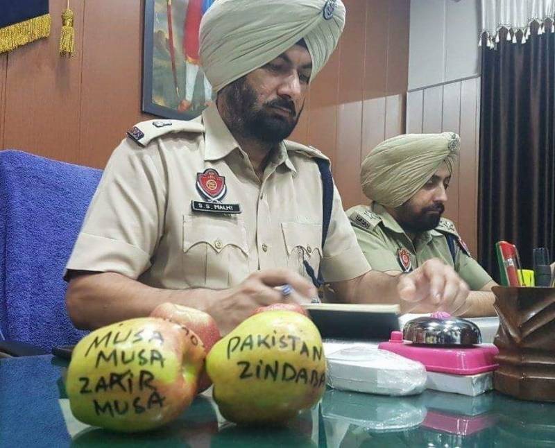 Pro-Pakistani apples 'arrested' by Indian police amid fruitless war hysteria