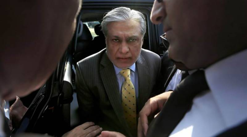 Accountability court reserves verdict on petition to auction Ishaq Dar's assets