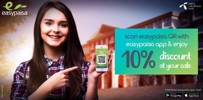 Easypaisa launches QR payment method in universities across Pakistan