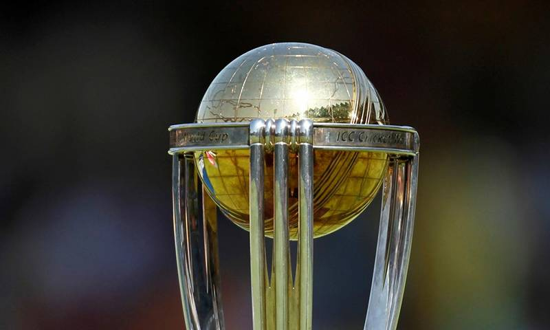 ICC Cricket World Cup trophy reaches Lahore