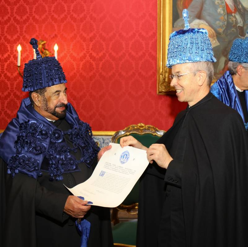 Portugal grants ruler of Sharjah honourary doctorate from the university of Coimbra