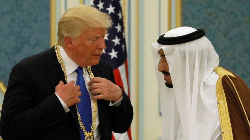 Trump told Saudi King he wouldn't last 'two weeks' without US military support