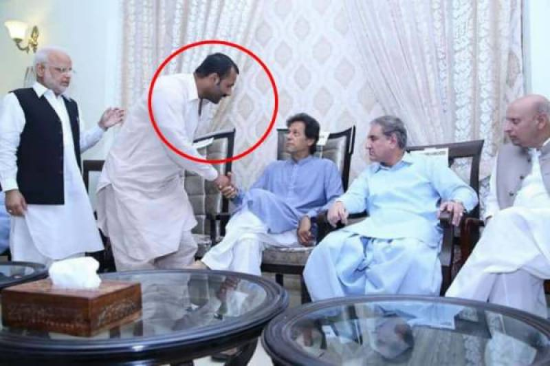 Saad Rafique exposes link between 'land grabber' Mansha Bomb and Imran Khan with eye-popping pictures