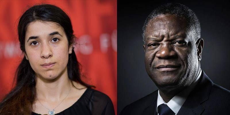 Nadia Murad, Denis Mukwege win Nobel Peace Prize 2018