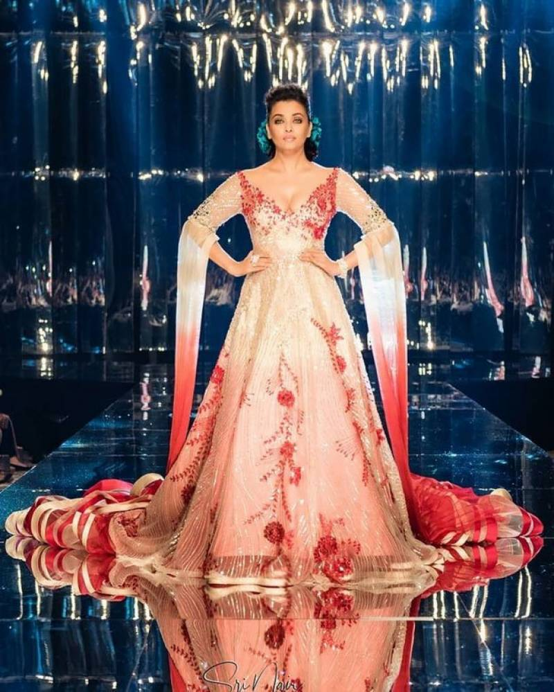 Aishwarya Rai Bachchan walked the ramp as the showstopper for Fashion Weekend International 2018