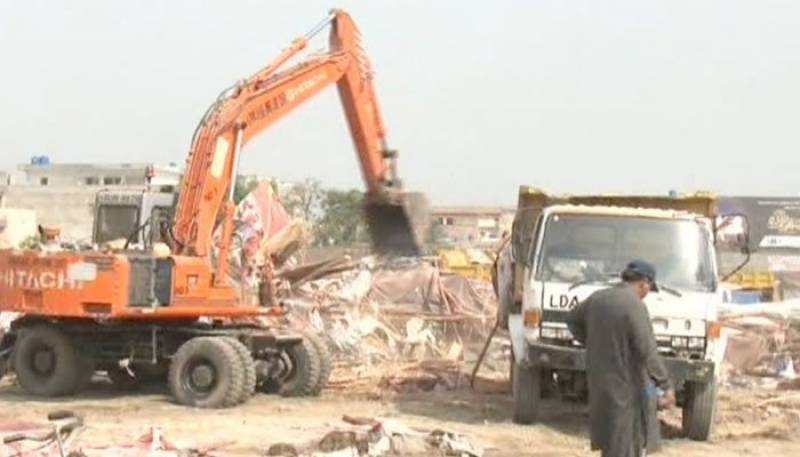 Anti-encroachment drive in Lahore halted for indefinite period