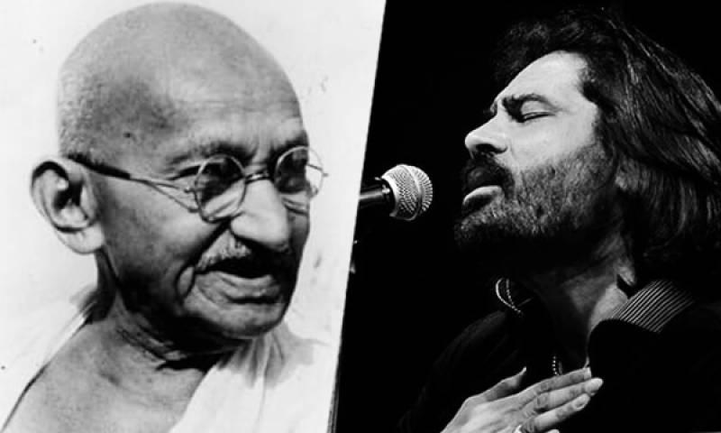 Shafqat Amanat Ali pays tribute to Mohtama Gandhi by singing Bhajan 'Vaishnav Jan'