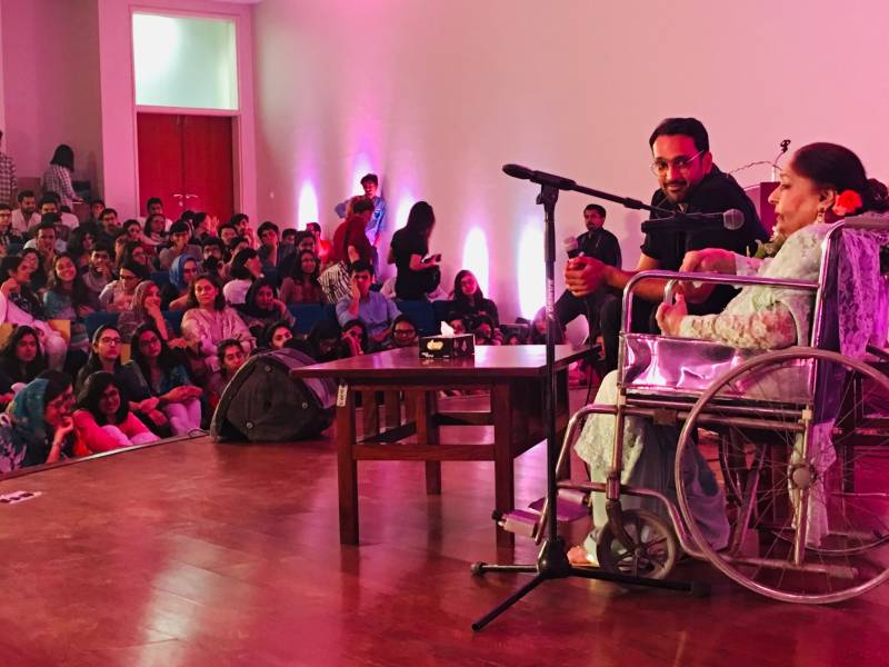 'Yūnhī pehlū meiñ' an Evening with Farida Khanum and Ali Sethi at LUMS