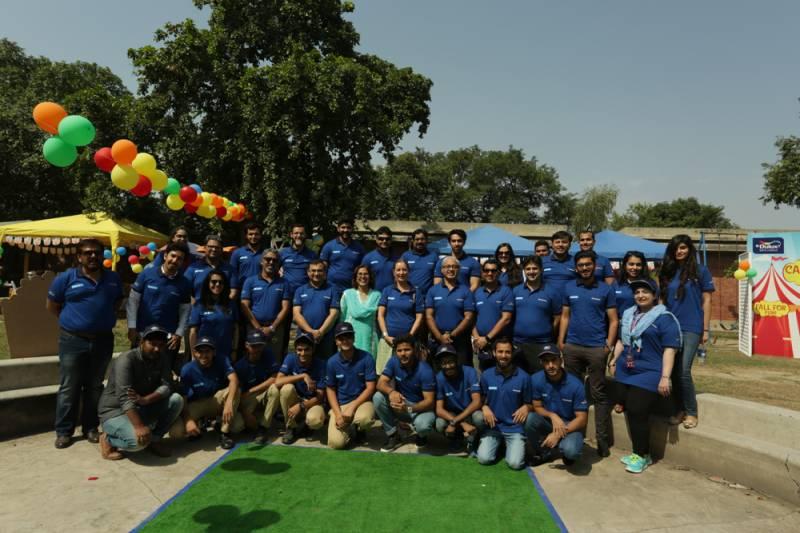 AkzoNobel holds colour training program at SOS Children's Village Lahore