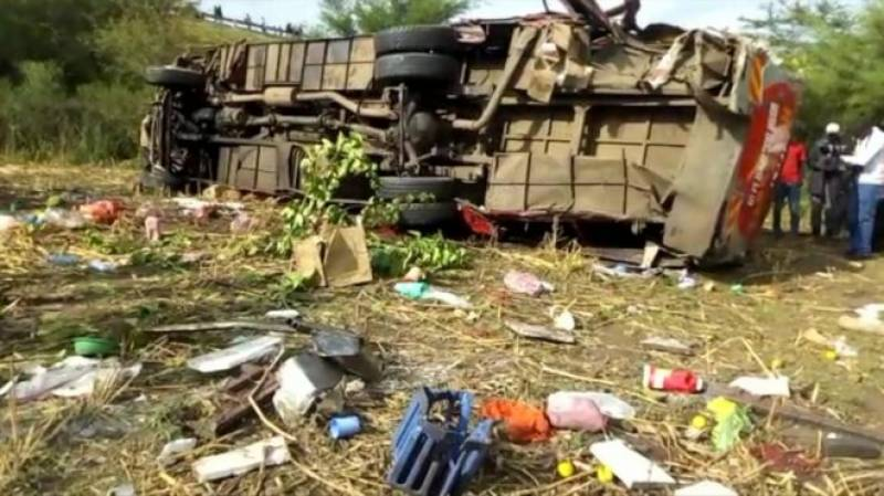 Over 40 dead in Kenya bus accident