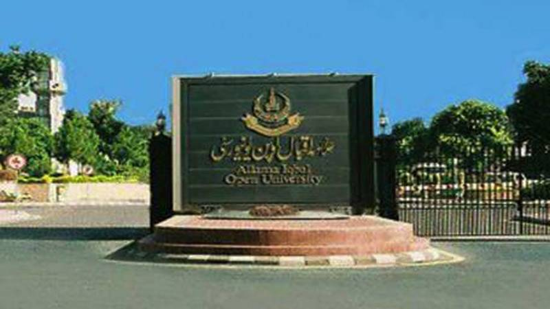AIOU notifies Monday last date for autumn admission