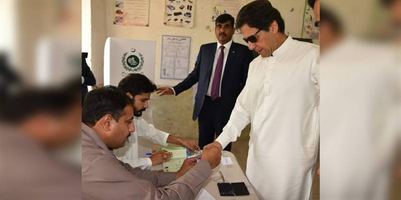 NA-53 by-polls: PM Imran Khan votes for PTI candidate in Islamabad