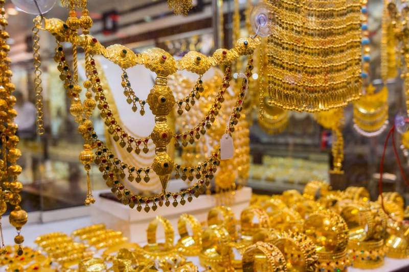 Gold price witnesses upward trend in Pakistan