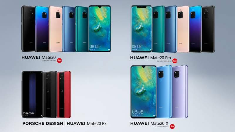 A Higher Intelligence: Huawei launches flagship Mate 20 Series in London