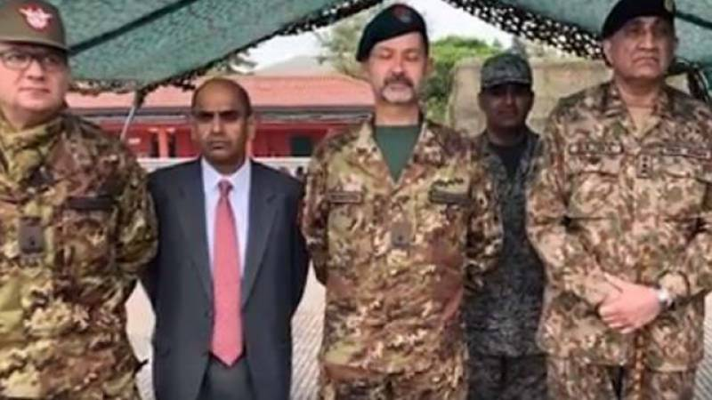 COAS Bajwa talks bilateral defence, security cooperation in Italy visit