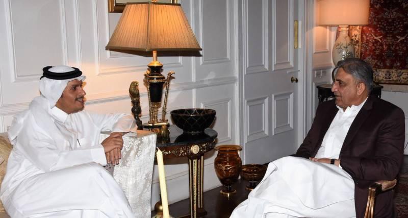 Qatari foreign minister acknowledges Pakistan's anti-terror drive