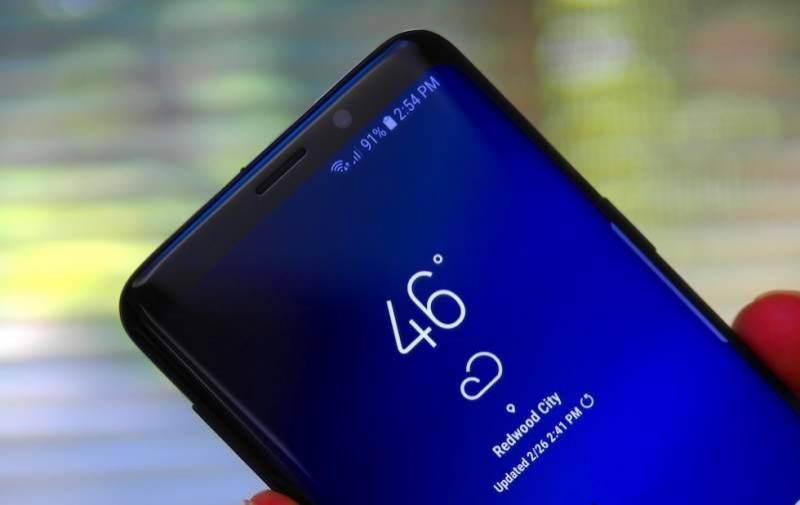 Samsung might launch future smartphones with in-display front camera, finger print sensor