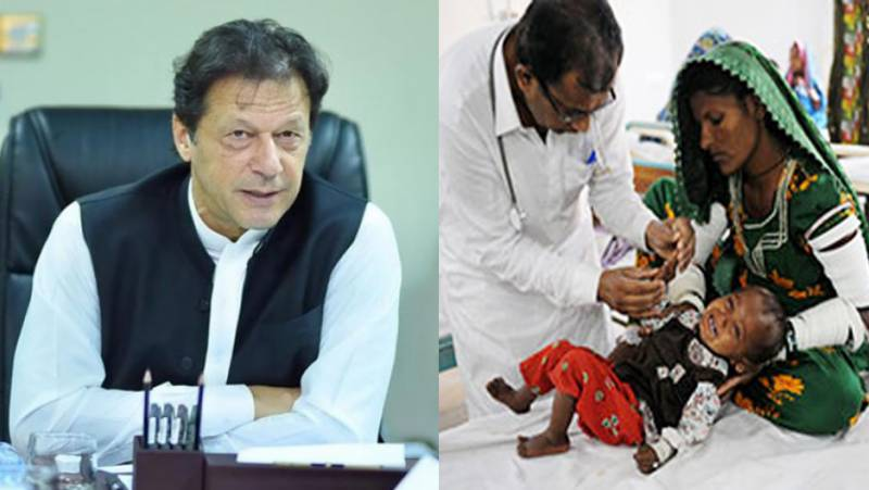 PM Imran takes notice over worst health facilities in Thar