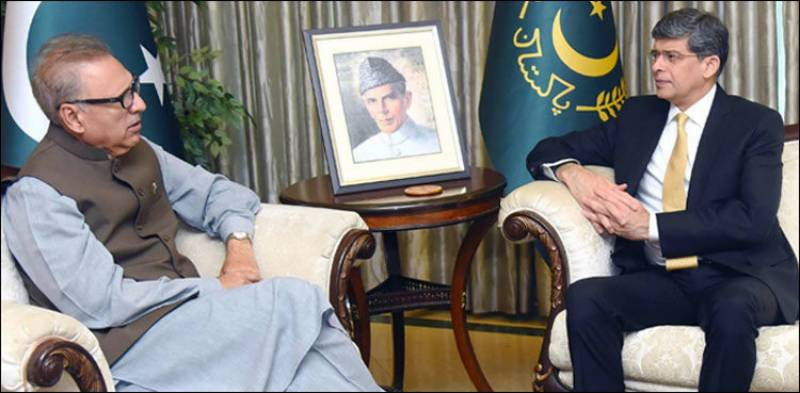 President Alvi all praise for outgoing ISI chief