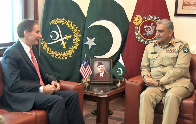 US envoy calls on COAS Bajwa to discuss bilateral issues