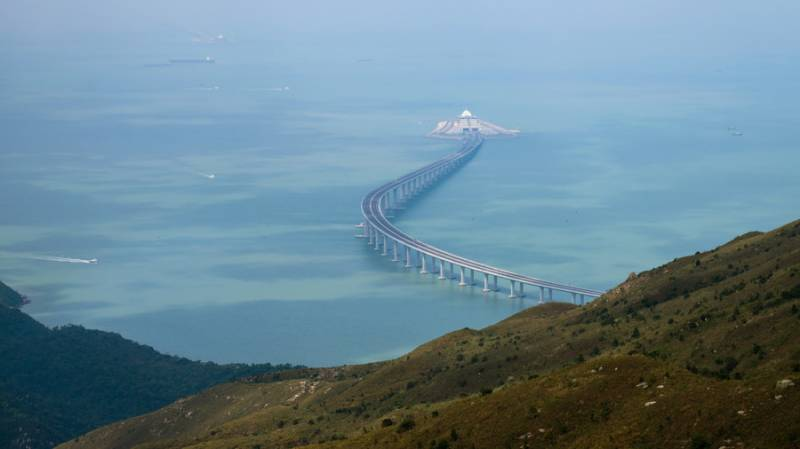 VIDEO: China set to open world's longest sea-crossing bridge between Hong Kong & Macau