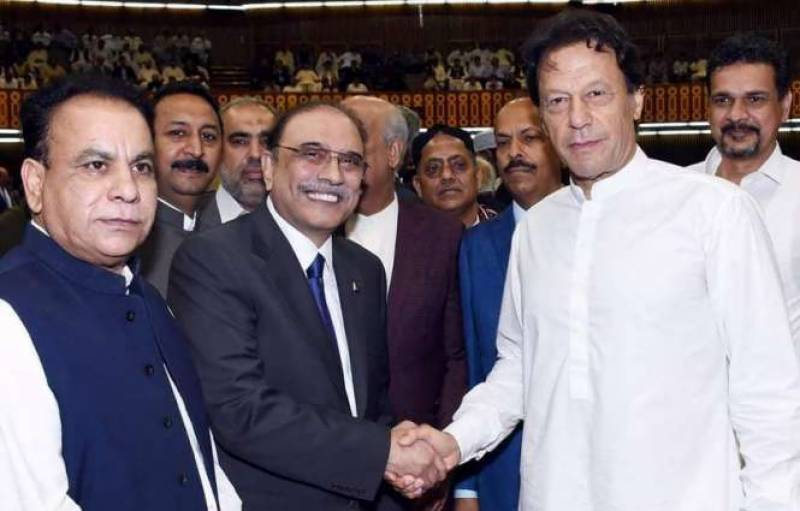 Zardari seeks political support to oust PM Imran-led regime