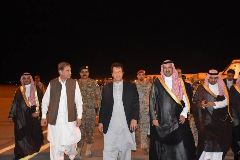 Davos in the Desert: PM Khan arrives in Saudi Arabia to attend investment conference