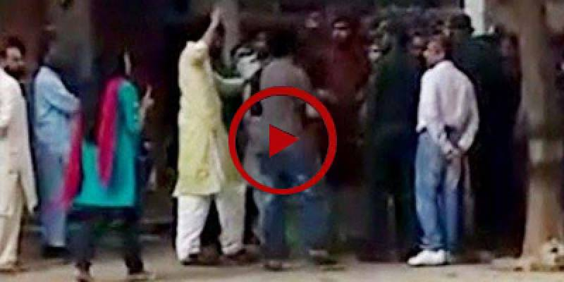 PU students suspended for thrashing couple inside campus (VIDEO)