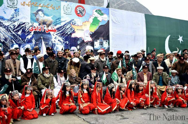 Gilgit Baltistan Independence Day celebrated with zeal