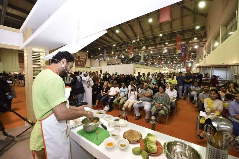 Celebrity chef Ranveer Brar wows crowds with live cooking at SIBF 2018