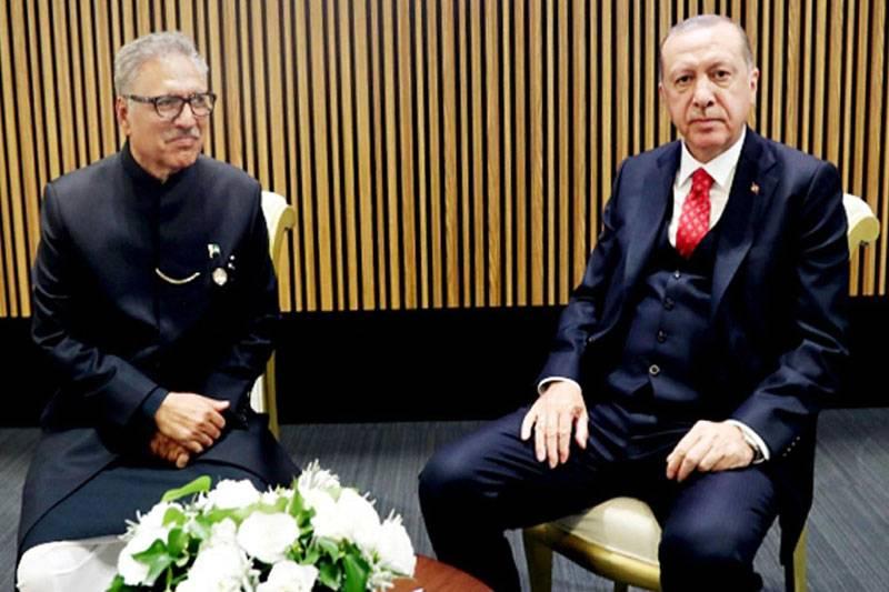 Pakistan, Turkey likely to sign FTA soon: President Alvi