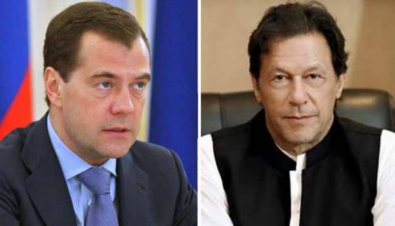 PM Imran invites Russian premier to visit Pakistan