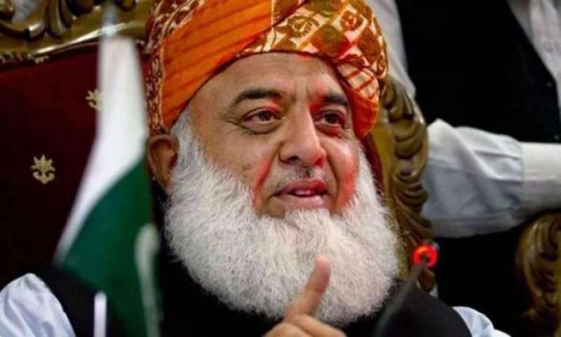 Fazlur Rehman announces 'Namoos-e-Risalat Million March' in Karachi (VIDEO)