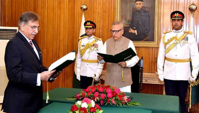 Haseeb Athar sworn in as new FPSC chairman