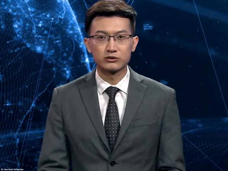 VIDEO: China unveils world's first AI news anchor