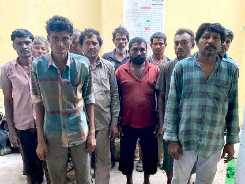 12 Indian fishermen arrested in Pakistan